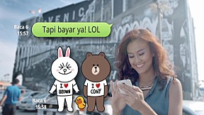 [LINE TVC] Group Chat_Indonesia