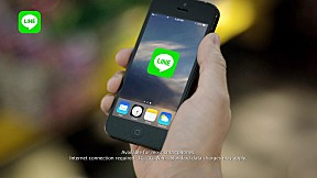 [LINE TVC America] Download LINE for Free (30s)