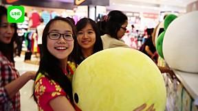 LINE FRIENDS in Jakarta, Indonesia