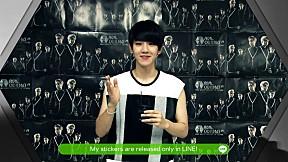 LINE X EXO - BAEK HYUN Sticker