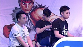[Street FighterⅤ Crash] GroupC Final Match GZ dojo vs 스고이