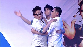 [Street FighterⅤ Crash] GroupC Winner\'s Match GZ dojo vs Team NRZ