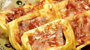 Pork Belly Rolled Omelette