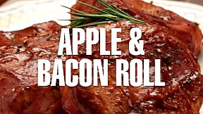 Apple & Bacon Roll