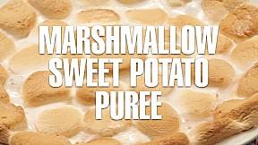 Marshmallow Sweet Potato Pureé