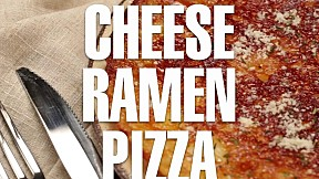 Cheese Ramen Pizza