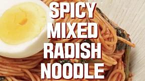 Spciy Mixed Radish Noodle