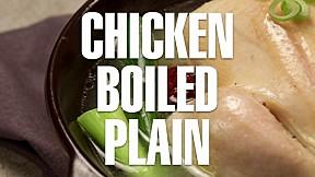 Chicken Boiled Plain(Samgyetang)
