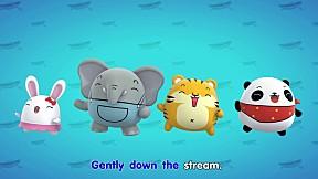 Zoovivor cartoon animation - Row row row your boat