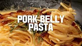 Pork Belly Pasta