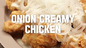 Onion Creamy Chicken