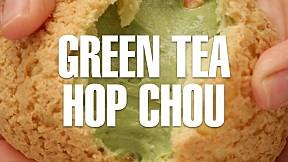 Green Tea Hop Choux