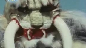 ไอ้มดเขียว คาเมนไรเดอร์ วี3 | EP.34 ตอนเสี่ยงอันตราย ! บารอนคิบะปะทะ สามไรเดอร์ [3\/3]
