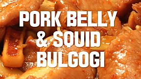 Pork Belly & Squid Bulgogi