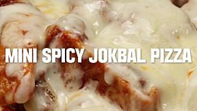 Mini Spicy Jokbal Pizza