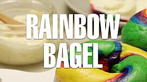 Rainbow Bagle