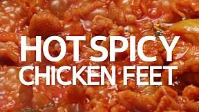 Hot & Spicy Chicken Feet