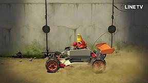 LARVA   EP.90   Toy Car