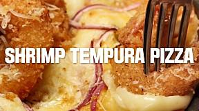 Shrimp Tempura Pizza