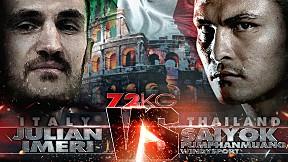 THAI FIGHT ITALY | คู่ที่ 3 JULIAN VS SAIYOK