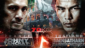 THAI FIGHT ITALY   คู่ที่ 2 JOHNY VS SAENSATHARN