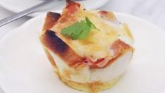 """วิธีทำ เมนู """"ขนมปังหน้าเบคอนชีส"""" อาหารเช้าสุดฟิน กินเท่าไรก็ไม่เบื่อ!"""