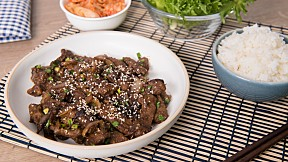 """วิธีทำ เมนู """"เนื้อย่างบุลโกกิ"""" เนื้อเน้น ๆ เข้มข้น เต็มรสเกาหลี!"""