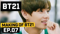 [BT21] Making of BT21 - EP.7