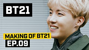 [BT21] Making of BT21 - EP.9