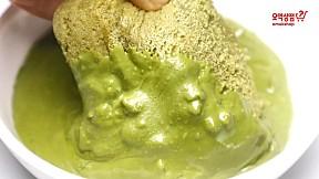 ขนมปังแยมชาเขียวอัลมอนด์