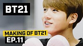 [BT21] Making of BT21 - EP.11