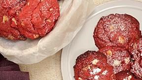 紅絲絨朱古力曲奇 Red Velvet Chocolate Chip Cookie