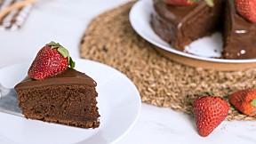 """วิธีทำ """"เค้กช็อกโกแลตหน้านิ่ม"""" เมนูเบเกอรีเอาใจคนรักช็อกโกแลต"""