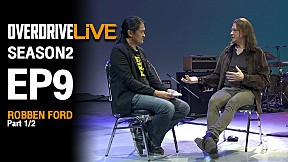 OverdriveLive | Season 2 | EP9 | Robben Ford