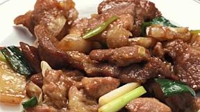 炒豬肉 Pork Bulgogi Meal