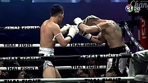 THAIFIGHT สมุย   แสนสะท้าน พี.เค.แสนชัยมวยไทยยิม VS Mostafa Ashouri