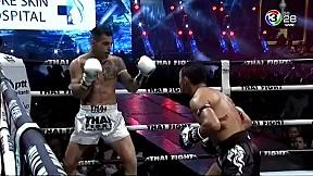 THAIFIGHT สมุย | แสนชัย พี.เค.แสนชัยมวยไทยยิม VS Andrea Serra