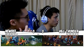 NEWBEE vs VGJ.THUNDER l รอบ Main Event DOTA2 China Supermajor