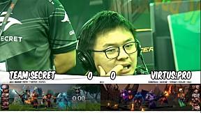 Team Secret vs VIRTUS.PRO l รอบ Main Event DOTA2 China Supermajor