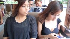 เคยป่ะ นั่งเล่นมือถือบนรถเมล์อยู่ดีๆ ก็เหมือนมีสายตาปริศนาจ้องมอง #สายเผือก | Best of เคยป่ะ?