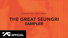 SEUNGRI - \'THE GREAT SEUNGRI' SAMPLER