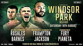 ถ่ายทอดสดศึกมวยชิงแชมป์โลก WBO : คาร์ล แฟรมป์ตัน v ลุก แจ็คสัน