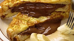 Nutella西多士 Nutella French Toast
