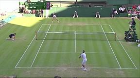 Lukas Rosol V Rafael Nadal l เทนนิสวิมเบลดัน ปี 2012