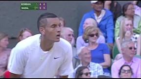 Nick Kyrgios V Rafael Nadal l เทนนิสวิมเบลดัน ปี 2014
