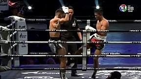 THAIFIGHT เชียงราย | ชนะจน พี.เค.แสนชัยมวยไทยยิม VS Erhan Gungor