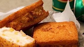 炸蝦三明治 Fried Shrimp Sandwich