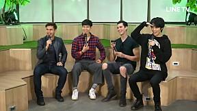 เทปบันทึกภาพ The Face Men Thailand Season 2 EXCLUSIVE LIVE on LINE TV