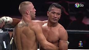 Thai Fight นครราชสีมา | ชนะจน พี.เค.แสนชัยมวยไทยยิม VS Philipp Engeroff