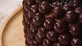 朱古力波波蛋糕 Chocolate Pearl Cake